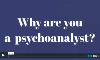 Why I am a Psychoanalyst FAQ Video by Rafael Sharon, Modern Psychoanalyst in Princeton NJ