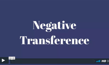 Negative Transference FAQ Video by Rafael Sharon, Modern Psychoanalyst in Princeton NJ