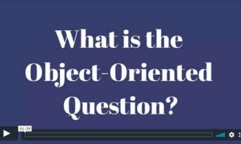 The Object-Oriented Question